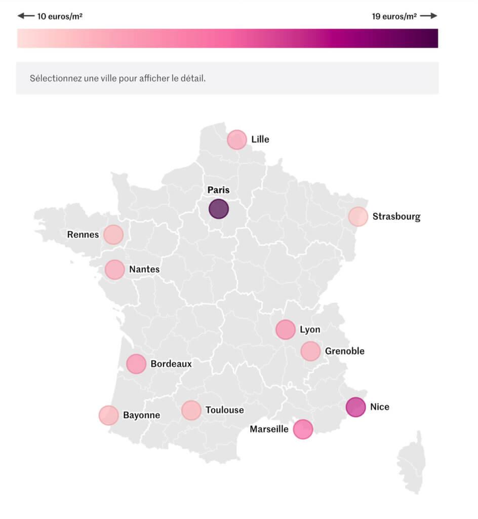 Le Monde - Dataviz médias Français