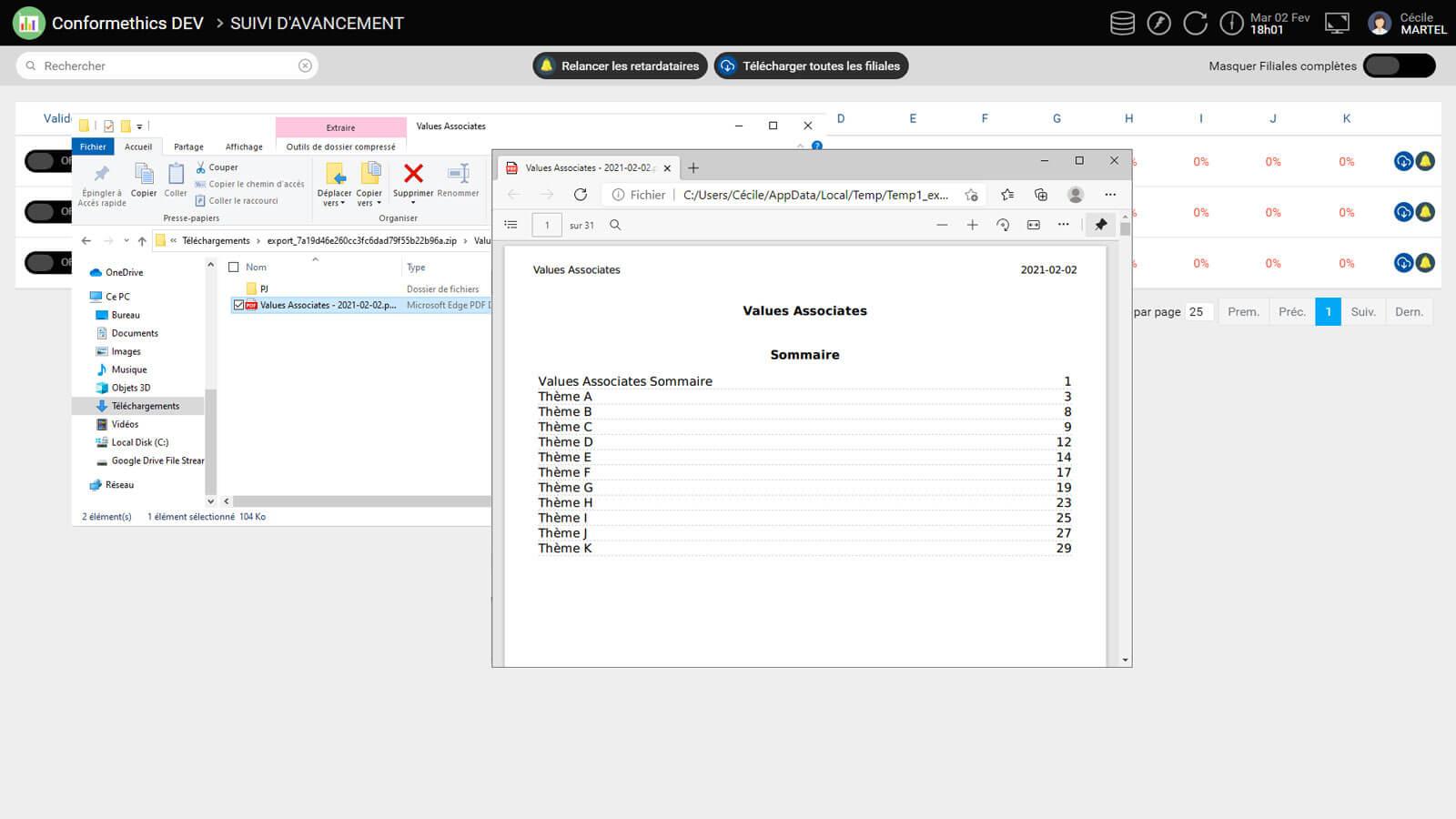 Sapin 2 - Reporting PDF questions AFA